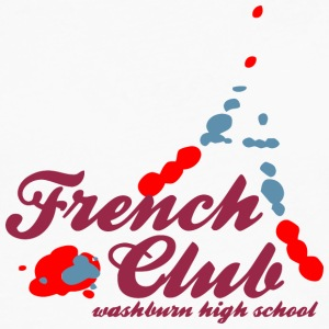 French Club washburn high school Design Placement - Men's Premium Long Sleeve T-Shirt
