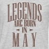 LEGENDS ARE BORN IN MAY - Men's Premium Long Sleeve T-Shirt