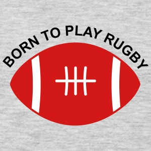 Born to play Rugby - Men's Premium Long Sleeve T-Shirt