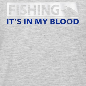Fishing My Blood - Men's Premium Long Sleeve T-Shirt