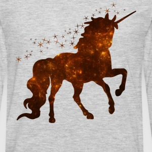Sparkle Glitter Unicorn Shirt - Men's Premium Long Sleeve T-Shirt
