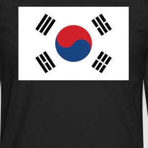 Flag of South Korea Cool South Korean Flag - Men's Premium Long Sleeve T-Shirt