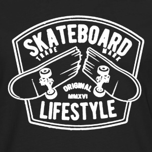 Skateboard Shirt - Men's Premium Long Sleeve T-Shirt