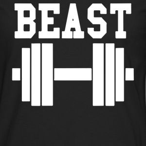 BEAST GYM - Men's Premium Long Sleeve T-Shirt