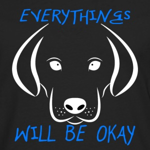 Dogs (Everything Will Be Okay) - Men's Premium Long Sleeve T-Shirt