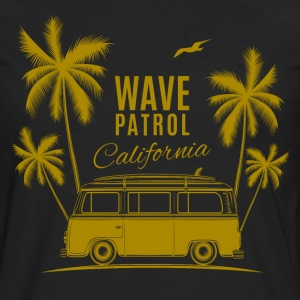 Wave Patrol California - Men's Premium Long Sleeve T-Shirt