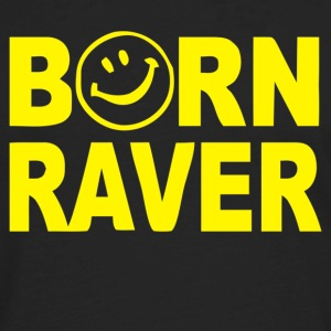 Born Raver - Men's Premium Long Sleeve T-Shirt