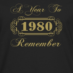 1980 A Year To Remember - Men's Premium Long Sleeve T-Shirt