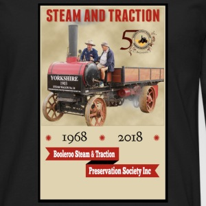 Booleroo Steam & Traction - Men's Premium Long Sleeve T-Shirt