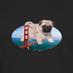 PUG ATTACK - Men's Premium Long Sleeve T-Shirt