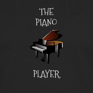 The piano player design - Men's Premium Long Sleeve T-Shirt