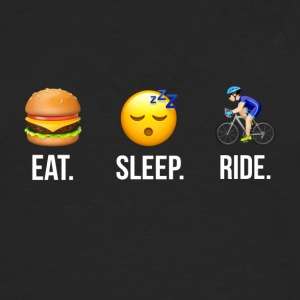 Eat Sleep Ride Male - Men's Premium Long Sleeve T-Shirt