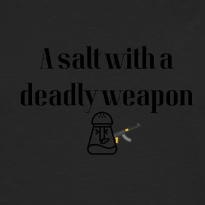 A salt with a deadly weapon - Men's Premium Long Sleeve T-Shirt