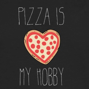 Pizza is my Hobby - Men's Premium Long Sleeve T-Shirt