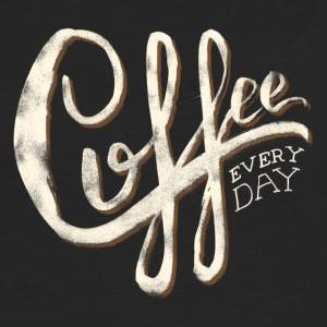 Coffee everyday - Men's Premium Long Sleeve T-Shirt