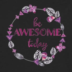 Be awesome today - Men's Premium Long Sleeve T-Shirt