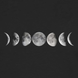 Moon phases - Men's Premium Long Sleeve T-Shirt