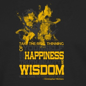 Happiness and Wisdom - Men's Premium Long Sleeve T-Shirt