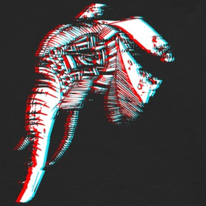 3D Spirit Elephant - Men's Premium Long Sleeve T-Shirt
