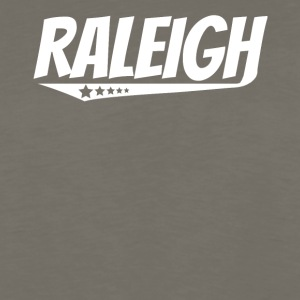 Raleigh Retro Comic Book Style Logo - Men's Premium Long Sleeve T-Shirt