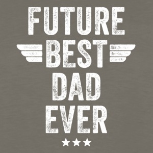Future best dad ever - Men's Premium Long Sleeve T-Shirt