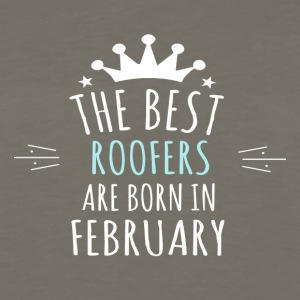 Best ROOFERS are born in february - Men's Premium Long Sleeve T-Shirt