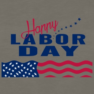 Happy Labor Day - Men's Premium Long Sleeve T-Shirt