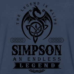 SIMPSON - Men's Premium Long Sleeve T-Shirt