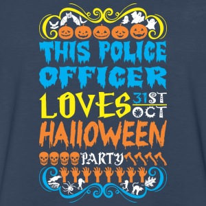 This Police Officer Loves 31st Oct Halloween Party - Men's Premium Long Sleeve T-Shirt