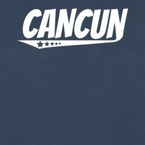 Cancun Retro Comic Book Style Logo - Men's Premium Long Sleeve T-Shirt