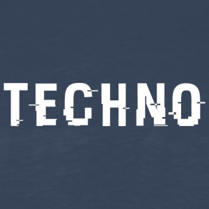 Techno Hacked White - Men's Premium Long Sleeve T-Shirt