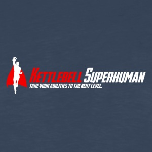 LOGO_HiRes Kettlebell Superhuman - Men's Premium Long Sleeve T-Shirt