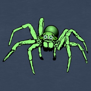 green spider / giant spider - Men's Premium Long Sleeve T-Shirt