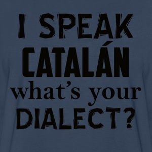 catalan dialect - Men's Premium Long Sleeve T-Shirt