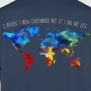 I Haven't Been Everywhere But It's On My List - Men's Premium Long Sleeve T-Shirt