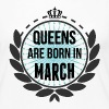 Queens Are Born In March - Women's Premium Long Sleeve T-Shirt