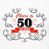 Cheers to 50 years - Women's Premium Long Sleeve T-Shirt