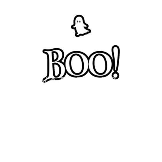 Boo! Halloween Ghost Funny Idea Women's Premium Longsleeve