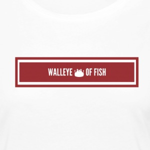 Walleye King of Fish - Women's Premium Long Sleeve T-Shirt