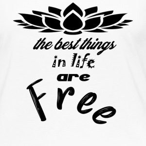 the best things in life - Women's Premium Long Sleeve T-Shirt