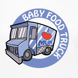 Blue Baby Food Truck - Women's Premium Long Sleeve T-Shirt