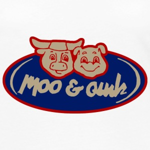 Moo and Oink Chicago - Women's Premium Long Sleeve T-Shirt