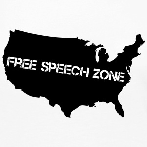 USA - Free Speech Zone - Women's Premium Long Sleeve T-Shirt
