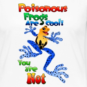 Poisonous frogs are cool - Women's Premium Long Sleeve T-Shirt