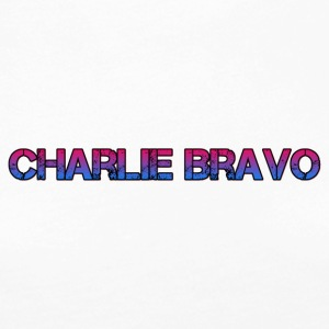 Charlie Bravo Plain Text - Women's Premium Long Sleeve T-Shirt