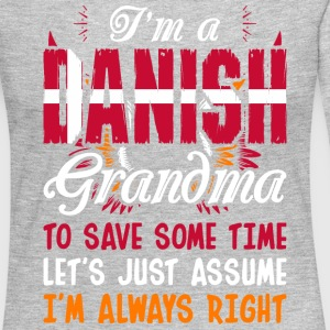 Im A Danish Grandma - Women's Premium Long Sleeve T-Shirt
