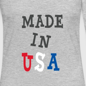 Made in USA - Women's Premium Long Sleeve T-Shirt