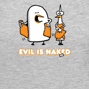 Evil is naked - Women's Premium Long Sleeve T-Shirt