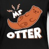 Mr Otter Cute Shirt - Women's Premium Long Sleeve T-Shirt
