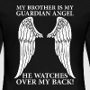 My Brother Is My Guardian Angel - Women's Premium Long Sleeve T-Shirt